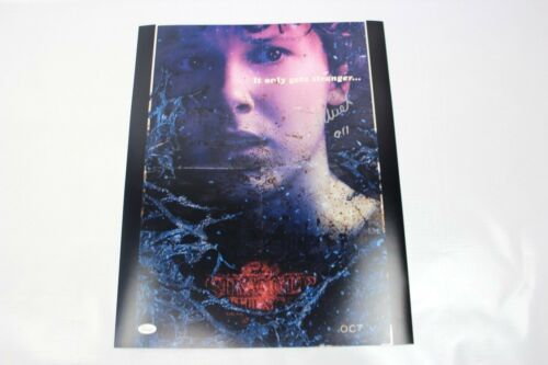 Millie Bobby Brown SIGNED STRANGER THINGS 16x20 Photo Eleven Autograph JSA COA