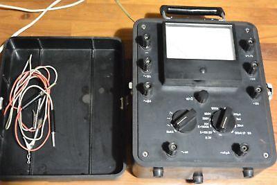 Vintage Ussr Analogue Multimeter Ampere Voltmeter Ampervoltmeter Avo-5m1-sh