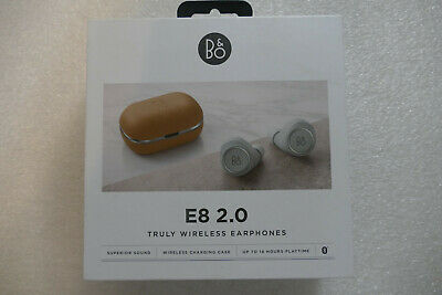 Bang & Olufsen Beoplay E8 2.0 True Wireless Earphones Qi Charging, Natural