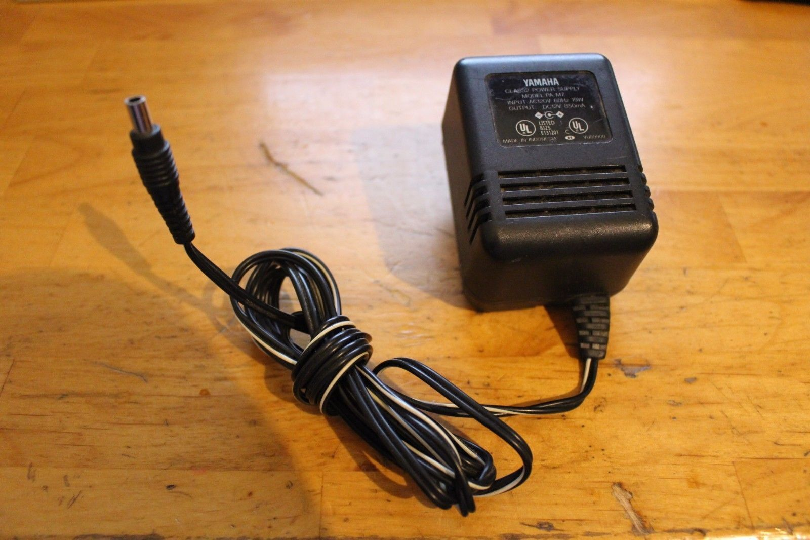 Yamaha Ac Adapter Power Supply Pa M7 12vdc 850ma Ebay Wiring