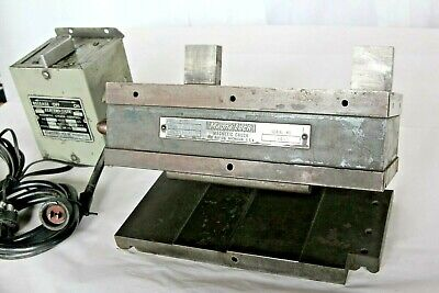 Magna-lock Da-10 10 Magnetic Chuck Compound Sine Plate With Controller