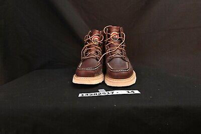 "Irish Setter Men's 6"" 83605 Work Boot,Brown,10.5 D US"