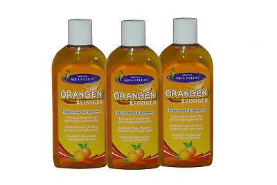 AQUA CLEAN Orangenreiniger 3x250ml