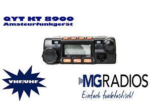 QYT KT8900 UHF VHF Amateurfunkgerät AFU/PMR/LPD/FRN mit Programmierkabel! G02