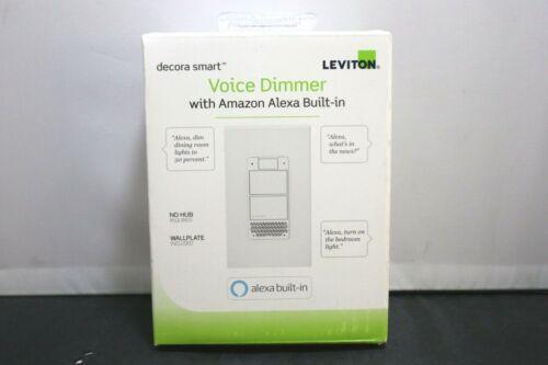 Leviton Decora Smart Voice Dimmer with Amazon Alexa Built In NIB LOOK!