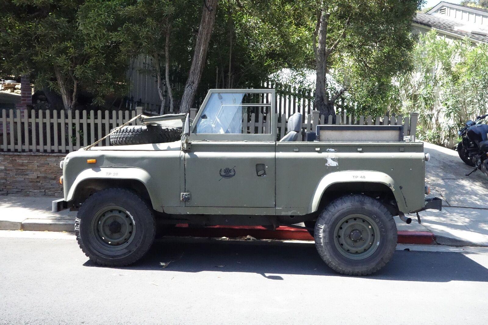 1980 Land Rover Defender  1980 Land Rover Defender MOD - ALREADY TITLED - D90 110