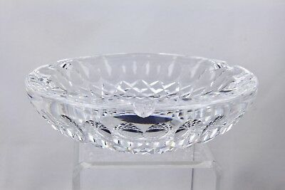 """WATERFORD CRYSTAL COLLEEN 7"""" LARGE CIGAR ASHTRAY - RARE"""