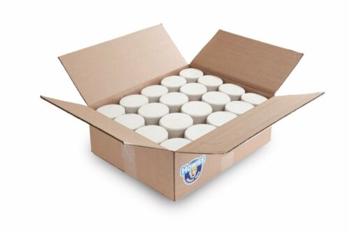 Hockey Pucks Bulk - 25 White Hockey Pucks per Case - Official 6 oz. - New