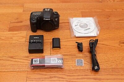 Canon EOS 7D Mark II w/ WiFi SD Adapter 20.2MP Digital SLR Camera