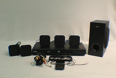RCA RTD3266 DVD Home Theater System - Black (5 Speakers, 1 Subwoofer)