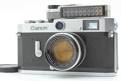 【NEAR MINT Meter Works!】 Canon P Rangefinder Film Camera + 50mm f/1.8 Lens JAPAN