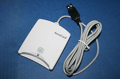 NEW ACTIVCARD V2.0  CAC USB Smart Card Reader DOD Military ID