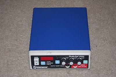 Stratagene Feathervolt 2000 Electrophoresis Power Supply Guaranteed
