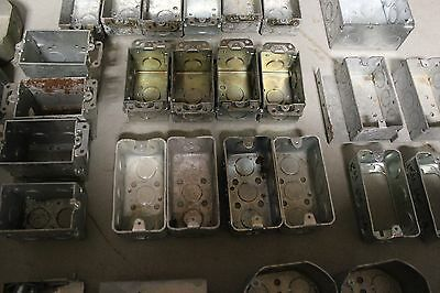 30 New Used Mixedassorted Electrical Steel Boxes
