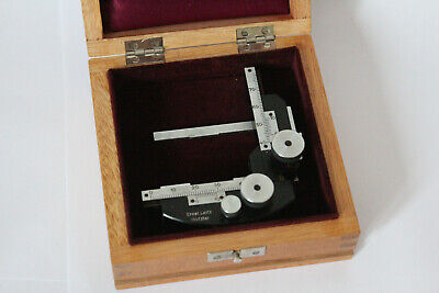 Leitz Wetzlar Polarising Microscope Antique Vintage Slider Holder Petrographic