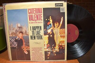 Caterina Valente I Happen to Like New York LP London Decca SLK16290-PEX Stereo