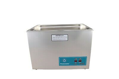 Crest Powersonic Ultrasonic Cleaner 7 Gallon Timer Heat P2600ht-45 115v