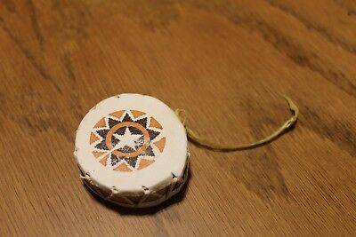 Vintage Native American Drum Star  Design Ornaments