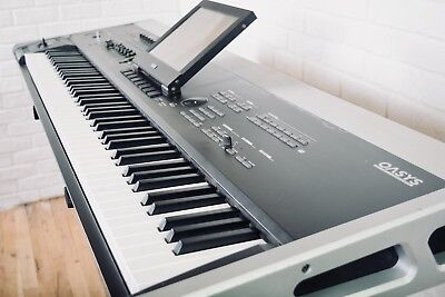 Korg Oasys 88 key piano keyboard synthesizer excellent-synth for sale for sale  Shipping to India