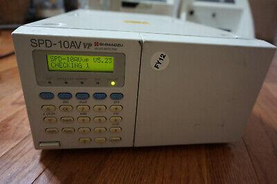 Shimadzu Hplc Spd-10av Vp Uv-vis Detector Chromatography Lc 10avvp