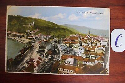 Postkarte Ansichtskarte Österreich Austria Aussig