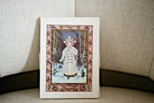 """New Metropolitan Museum Of Art The Snow Maiden """"Holiday Greeting""""  10 Cards"""