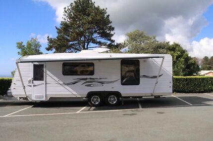 2009 Blue Sky Caravan - 26ft Deluxe Tourer - Travel in luxury