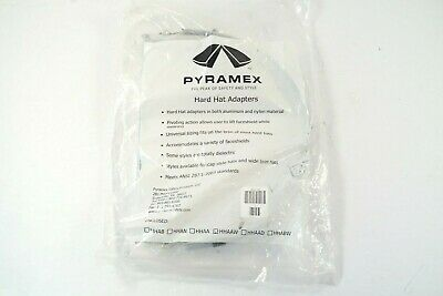 Pyramex Hhaaw Hard Hat Adapter Aluminum Nylon For Face Shield New Sealed B