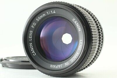FedEx【Excellent+++】 Canon New FD 50mm f/1.4 NFD MF Prime Lens From JAPAN