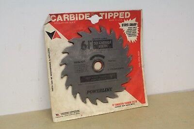 "Burgess Powerline 6 1/4"" x 20T x 20mmm / 1 1/8"" Core TCT Circular Saw Blade"