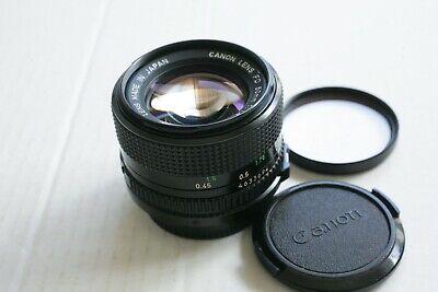 Canon FD 50mm F1.4  Manual Focus  PRIME  Lens Canon FD mount EXCELLENT+++