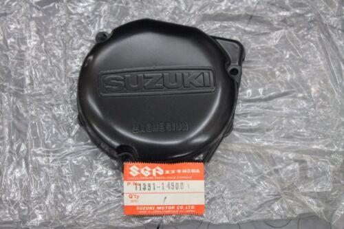 NOS Suzuki RM125 stator cover 1984 RM 125 # 11351-14500 BIN E