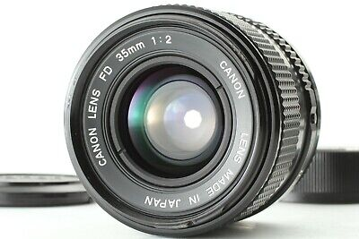 【 N MINT 】 Canon New FD 35mm f/2 NFD MF Wide Angle Lens From JAPAN #N053