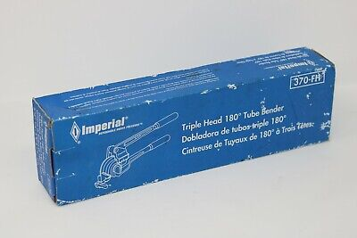 Imperial Tool 370fh Triple Header Tube Bender 316 14 38 12