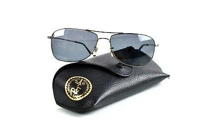 Ray Ban RB3477 Pilot Sunglasses Frames Only Lenses are Prescription with Case (Ray Ban Prescription Lenses Only)