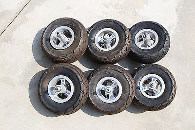 One Razor Front Wheel Tire & Tube, Disk brake and axle 3.00 - 4 Used 6 available