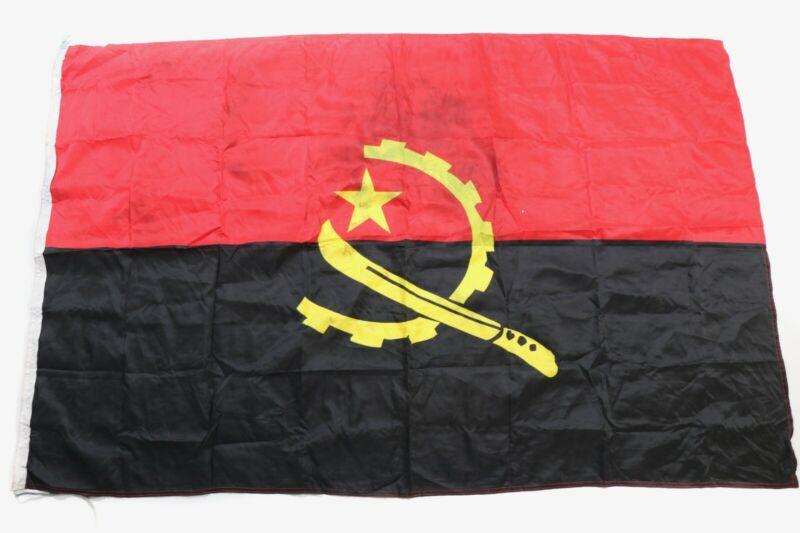 Angolan Civil War Flag (Soviet Made) -1980s / 1990s Angola