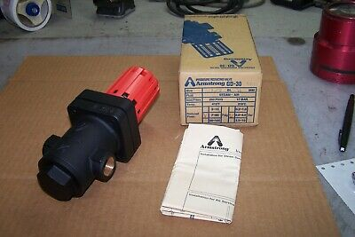 New Armstrong 12 Pressure Reducing Valve 250 Psig Reduced 7-60 Psig Gd-30