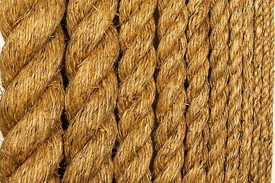 Manila Rope Treated Premium Hemp Natural Fiber Decorative Dock Deck Landscape