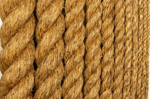 Manila Rope Treated Premium Hemp Natural Fiber Decorative All Sizes And Lengths