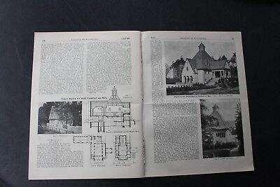 1916 Zentralblatt 27 / Elbe Elbstromverwaltung / Frankfurt Waldfriedhof