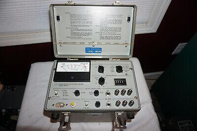 Hli Nonlinear Distortion Meter Model 65-dh Db Dbm Decible Audio Telephone Test