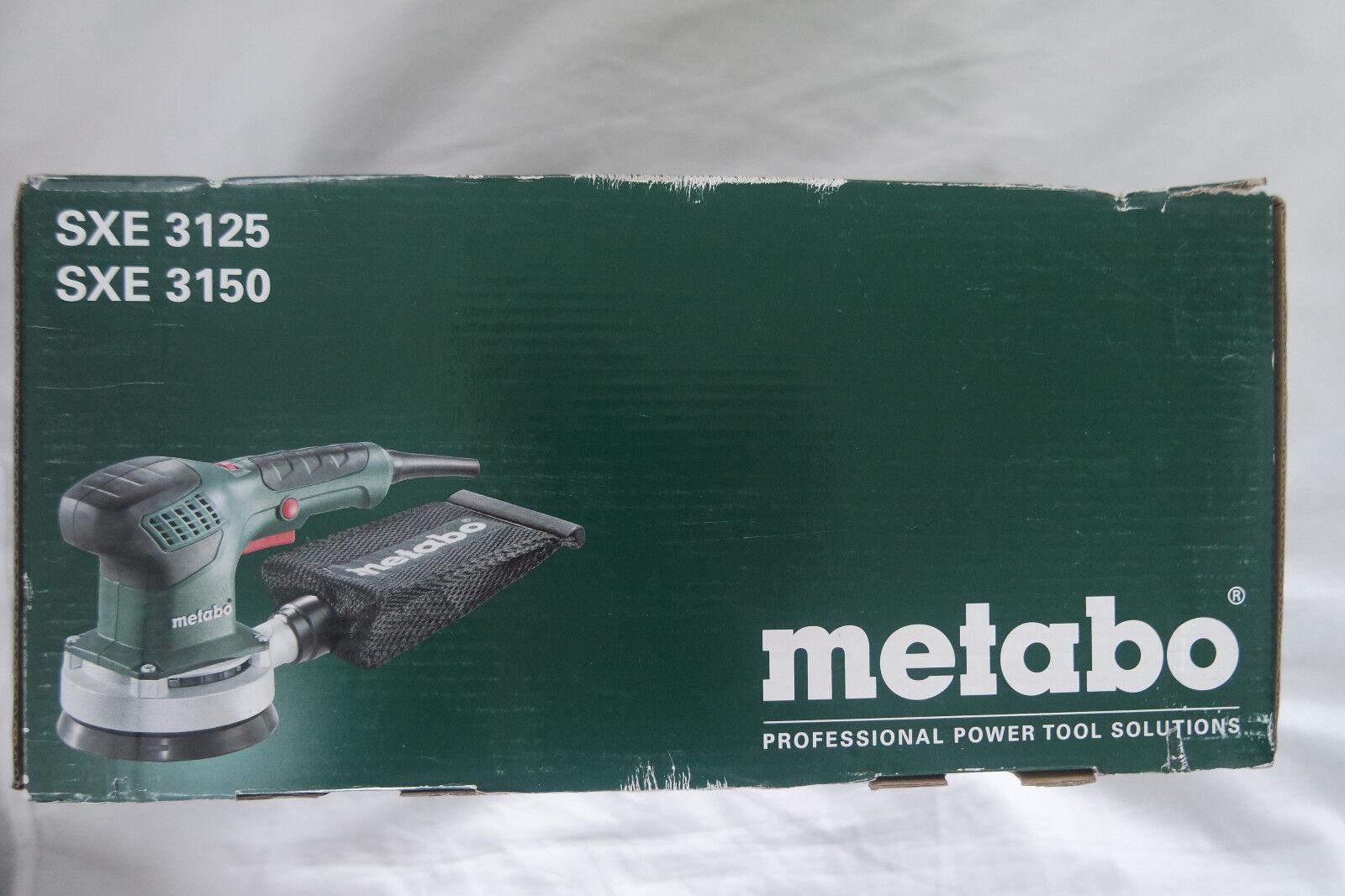 Metabo SXE 3150 Exzenterschleifer inkl. Textil-Staubbeutel 600444000
