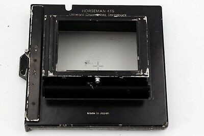 Horseman 4x5 universal Ground Glass Spring Back Increasing Back 6x9 to 4x5