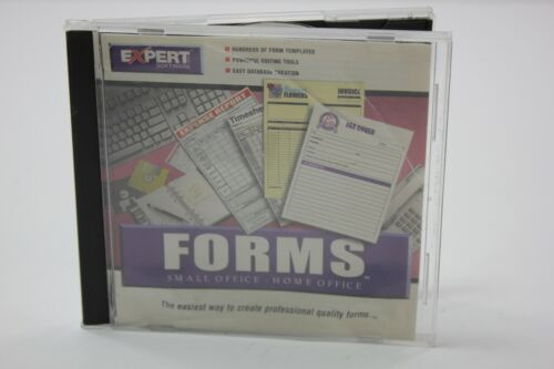 Expert Software Forms Small Office Home Office PC CD