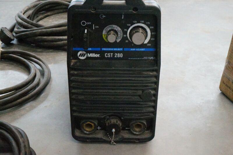 Miller CST 280 Stick/ TIG Welder
