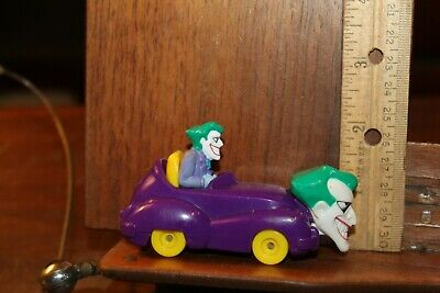 Vintage DC 1993 Batman The JOKER Car Jokermobile Animated Series