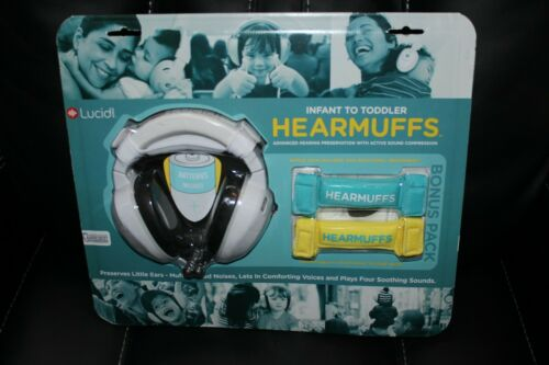 Hearmuffs Lucid Audio Combo kit with powered Hearmuffs and 2 growbands NEW!!!!!
