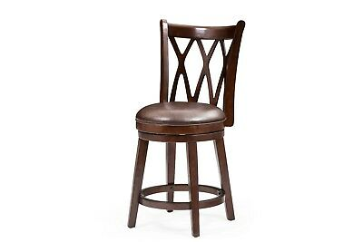 Cherry Finish Counter Chair - 24