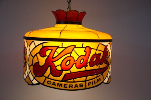 Vintage Kodak Camera Film Store Hanging Light Lamp Picture Photography